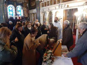 Τον Άγιο Ευγένιο τον Τραπεζούντιο τίμησαν στα Νέα Παλάτια Ωρωπού