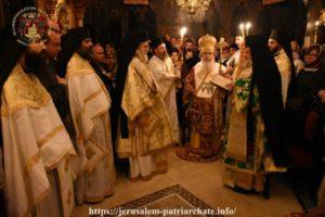 Ιεροσόλυμα : Πανήγυρις στην Ιερά Μονή Γεωργίου και Ιωάννου Χοζεβίτων
