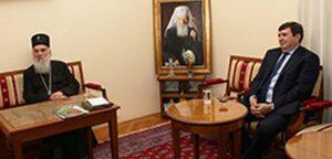 Στον Πατριάρχη Σερβίας Ειρηναίο ο Ουκρανός Πρέσβης