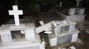 Μεσσηνία : Συνελήφθησαν οι βέβηλοι του νεκροταφείου