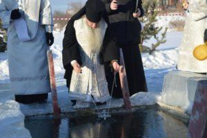 Θεοφάνεια στα παγωμένα νερά της Σιβηρίας