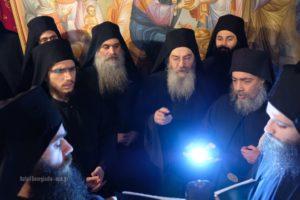 Πανήγυρις στη Μονή Καρακάλλου : Τι είπε Ηγούμενος της Ι.Μ. Φιλοθέου  Νικόδημος για τον γ. Εφραίμ της Αριζόνας