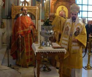 Ο Επίσκοπος Μελιτηνής Μάξιμος στη Γκρενόμπλ για τα Θεοφάνεια