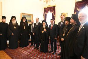 Αυτοκέφαλη Εκκλησία θέλουν τα Σκόπια – Συνάντηση στο Φανάρι με τον Βαρθολομαίο
