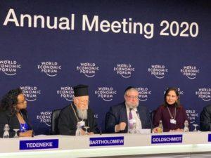 Τι είπε στη ομιλία του στο Νταβός ο Οικουμενικός Πατριάρχης