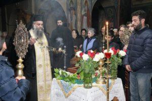 Αγρυπνία και υποδοχή του δεξιού πέλματος της Αγίας Ελένης στον Ι.Ν. Αγίου Γερασίμου Κεφαλοβρύσου