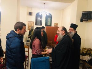 Συνάντηση νέων ζευγαριών στον Ιερό Ναό της Αγίας Μαρίνης Πατρών