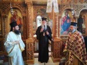 Η μνήμη του Αγίου Ιωάννου του Χρυσοστόμου στην Ι.Μ.Περιστερίου