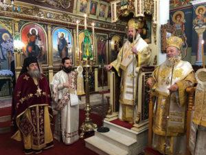 ΙΣΤΙΑΙΑ : Πλήθη λαού τίμησαν τον Πολιούχο Αγιο Αθανάσιο προεξάρχοντος του Αρχιγραμματέα της Ι. Συνόδου