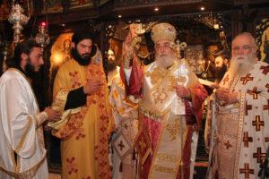Ο Φωκίδος Θεόκτιστος χειροτόνησε τον 24χρονο μοναχό Νεκτάριο σε διάκονο