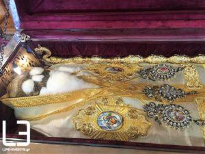Αγιος Γρηγόριος: Το Ιερό σκήνωμα στη Νέα Καρβάλη Καβάλας (ΦΩΤΟ)