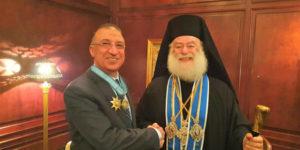 Σε θερμό κλίμα η συνάντηση του Πατριάρχη Θεόδωρου με τις αρχές της Αλεξάνδρειας