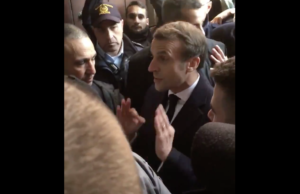 Εύγε στον Γάλλο Πρόεδρο!  Πέταξε έξω ισραηλινούς αστυνομικούς από εκκλησία στην Ιερουσαλήμ