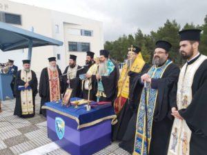 Οι Μητροπολίτες Λαρίσης και Φθιώτιδος στην Παράδοση-Παραλαβή του νέου αρχηγού ΓΕΕΘΑ