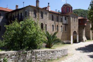 Αγιο Ορος: Πανηγυρίζει η Μονή Κωνσταμονίτου
