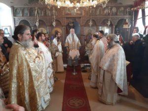 Εορτή Ανακομιδής Ιερών Λειψάνων Αγίου Ιωάννου του Χρυσοστόμου στην  Ι.Μ. Καρυστίας