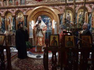 Ερέτρια: Αρχιερατική Θεία Λειτουργία στον Ι.Ν. Άγιο Νικολάου