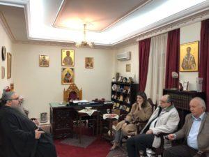 ΛΑΡΙΣΑ : Η Υφυπουργός Παιδείας και Θρησκευμάτων στον Ιερώνυμο