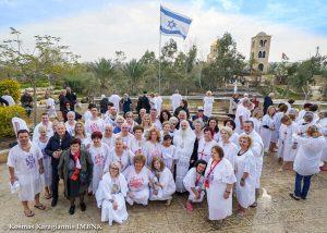 Προσκυνητές από την Βέροια στους Αγίους Τόπους