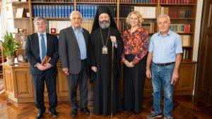 Συνάντηση Μακάριου με την Ελληνική Ορθόδοξη Κοινότητα ΝΝΟ