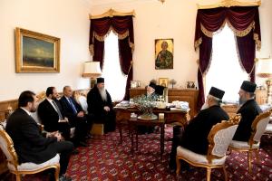 Ο Ιουστίνος με δημάρχους στο Φανάρι – Τι είπαν με τον Πατριάρχη
