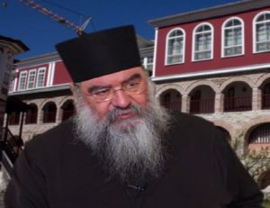 Ο Λεμεσού Αθανάσιος στον πανηγυρίζοντα Άγιο Χαράλαμπο στην Ερήμη