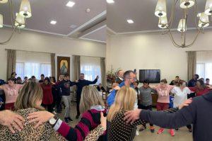 Τραγούδια και χοροί στο γηροκομείο της Ι.Μ. Αλεξανδρουπόλεως