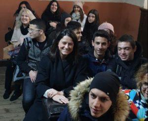 Κωνσταντινούπολη : Στη Θεολογική Σχολή της Χάλκης η Νίκη Κεραμέως