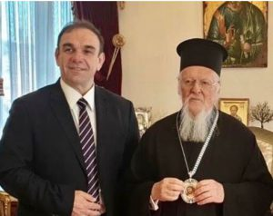 Στον Πατριάρχη Βαρθολομαίο ο πρόεδρος του Ελληνικού Οργανισμού Ανακύκλωσης