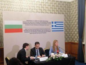 Θεοχάρης και Ανγκέλκοβα υπέγραψαν συμφωνία για τον θρησκευτικό τουρισμό