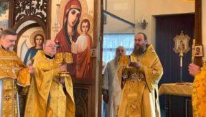 Ο πρωτοσύγκελος της Εκκλησίας της Ουκρανίας λειτούργησε στην Τσεχία
