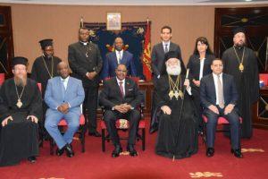 Ο Αλεξανδρείας Θεόδωρος στον Πρόεδρο του Μαλάουι