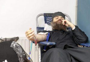 Βατοπαίδι: Οι μοναχοί δίνουν αίμα για τον συνάνθρωπο