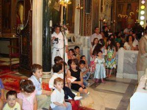 Ποια η θέση των παιδιών στην Εκκλησία;