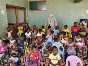 Ο Αλεξανδρείας Θεόδωρος στη Μοζαμβίκη