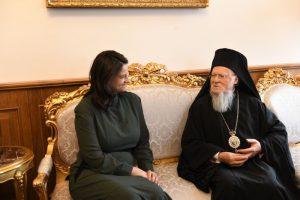 ΦΑΝΑΡΙ : Κεραμέως προς Βαρθολομαίο : «Ο ελληνισμός κρατεί εν πολλοίς μέσω της Εκκλησίας »