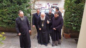 Στα Τρίκαλα ο Αρχιεπίσκοπος για τον πνευματικό του αδελφό Μητροπολίτη πρώην Τρίκκης Αλέξιο