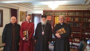 Εκπρόσωπος της Αγγλικανικής Εκκλησίας στον Κερκύρας Νεκτάριο