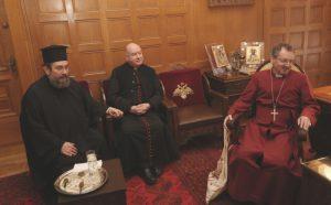 Οι σημερινές συναντήσεις του Αρχιεπισκόπου Ιερωνύμου