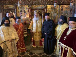 Μοναχική κουρά και χειροτονία Διακόνου στη Μονή Παναγίας Φανερωμένης Ιεράπετρας