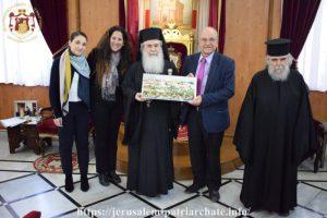 ΙΕΡΟΣΟΛΥΜΑ : Συνάντηση Θεόφιλου με Ισραηλινό αξιωματούχο