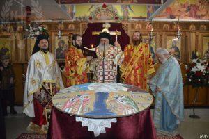 Πανηγυρική Αρχιερατική Θεία Λειτουργία στον Ι.Ν.Αγίου Πολυκάρπου Μενεμένης