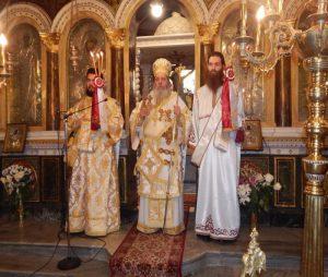 Ο Κερνίτσης Χρύσανθος στον Ιερό Ναό Παναγίας Αλεξιωτίσσης Πατρών