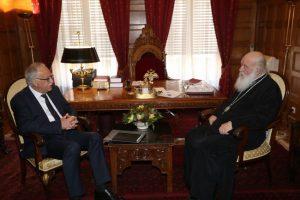 Στον Αρχιεπίσκοπο ο δήμαρχος Καλαβρύτων – Τι είπαν για το 2021