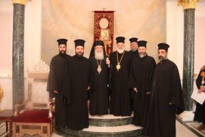 Ο Διδυμοτείχου Δαμασκηνός και προσκυνητές στους Αγίους Τόπους
