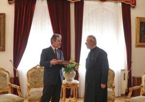 Ο νέος Πρέσβης της Ελλάδος στον Κύπρου Χρυσόστομο