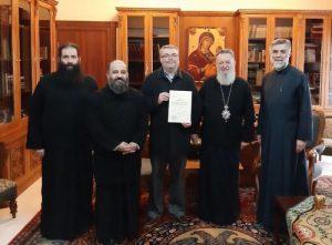 Στον Χαλκίδος Χρυσόστομο ο πρώτος κωφός μεταπτυχιακός φοιτητής της Θεολογικής Σχολής Αθηνών