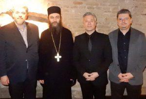 Εγκαίνια Έκθεσης στο Βελιγράδι παρουσία του Ηγουμένου της Μονής Χιλανδαρίου