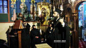 Άργος: Ομιλία του Αρχ. Ιακώβου Κανάκη στο μοναστήρι της Αγίας Μαρίνας