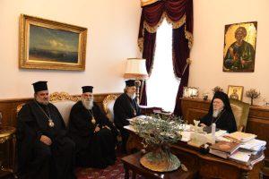 Αντιπροσωπεία από το Πατριαρχείο Ιεροσολύμων έδωσε εξηγήσεις στο ΦΑΝΑΡΙ για την Πανορθόδοξη